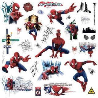 Marvel Superhero Comic Adhesivo De Pared, Spiderman Increib