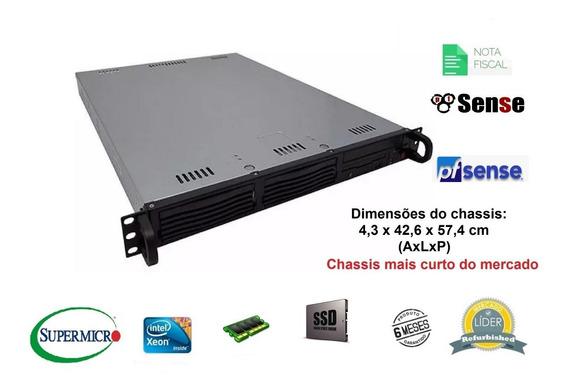 Server Pfsense Intel Xeon Quadcore Ssd 8gb Ram 4 Rj-45 Giga
