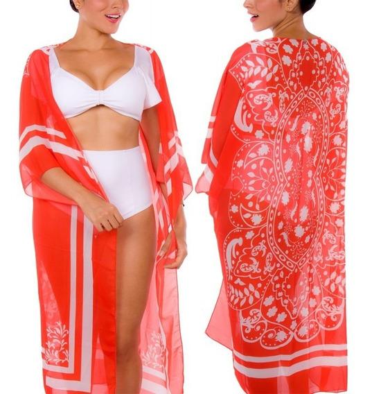 Salida De Baño Pareo Praie Ref: 2106 Kimono Mandala