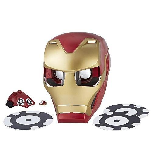 Mascara Ironman Hero Vision Realidad Aumentada E0849 Hasbro