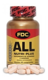 All Nutri Plus Fdc 80 Comprimidos