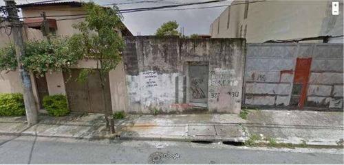 Terreno À Venda, 270 M² Por R$ 450.000,00 - Penha De França - São Paulo/sp - Te0173