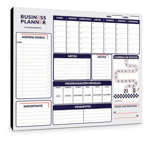 Tablero Planeador Business Planner Ms