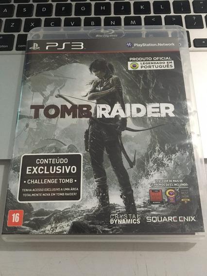 Jogo Ps3 Tomb Raider Mídia Física Legendado Em Português !!