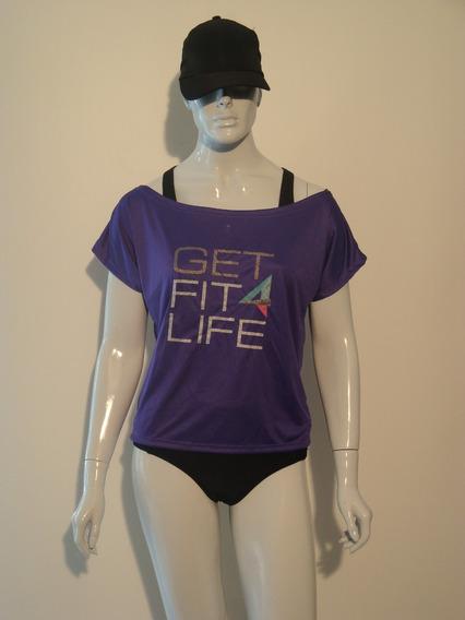 Camiseta Em Dryfit Getfit4life Fitness