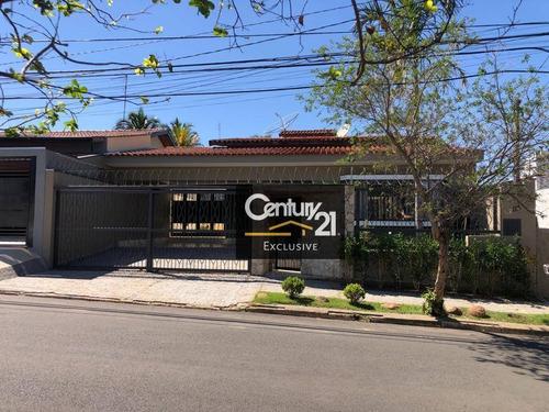 Imagem 1 de 21 de Casa Residencial À Venda, Chácara Areal, Indaiatuba. - Ca0260