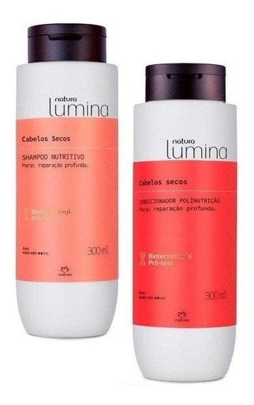 Natura Lumina Shampoo E Condicionador Nutritivo
