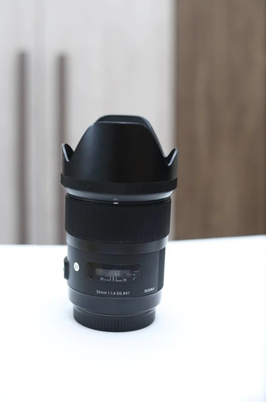 Lente Sigma Art 35mm (canon)