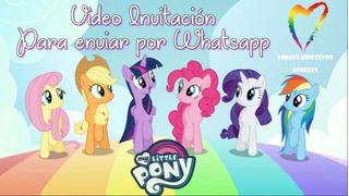 Tarjetas De Invitacion De Pony En Mercado Libre Argentina