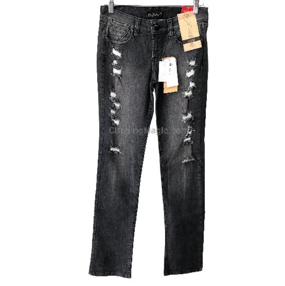 Calça Feminina Equus Jeans Destroyed Promoção 022