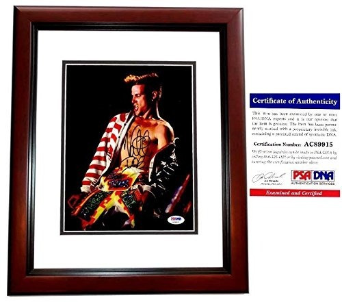Vanilla Ice Signed - Rapper Autografiado - Actor Foto De 8x1