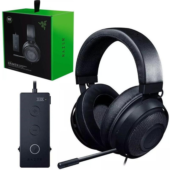 Headset Razer Kraken Tournament Usb Thx Spatial Audio Novo