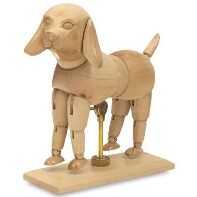 Cachorro Manequim Articulado 15cm Anime Manga Escultura