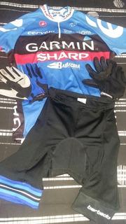 Barato!! Kit Camisa Bermuda + 2 Pares De Luvas Mtb Ciclismo