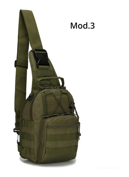 Mochila Backpack Militar Tactica Verde D3017