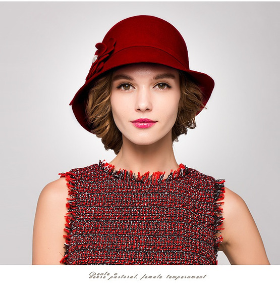 Sombrero De Lana Invernal Para Dama