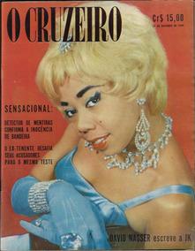 1959 Revista O Cruzeiro Ano 32 Nº 3 Capa Atriz Vera Regina