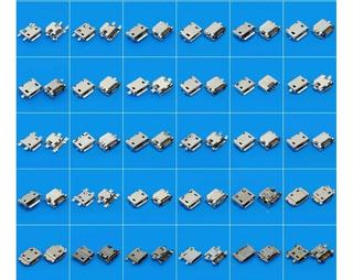 Conector De Carga Micro Usb 30 Modelos 150 Unidades!