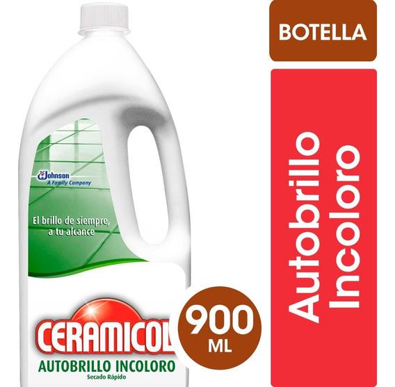 Ceramicol Autobrillo Incoloro X900ml - 3 Unidades