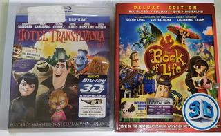 Blu Ray Oferta Hotel Transylvania 3d Book Life P Unitario