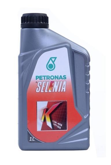 Óleo Do Motor Selênia K 15w40 Api Sn Semissintético 1l