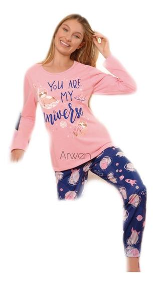 Pijama Invierno Mujer Lencatex - Art. 20300
