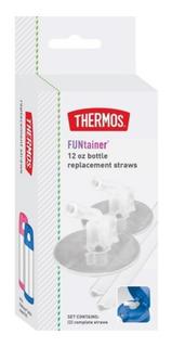 Refil Com 2 Canudo Para Garrafa Thermos Funtainer F401