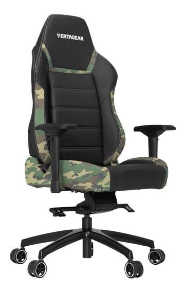 Cadeira Gamer Vertagear Racing Pl6000 - Preto Camuflado