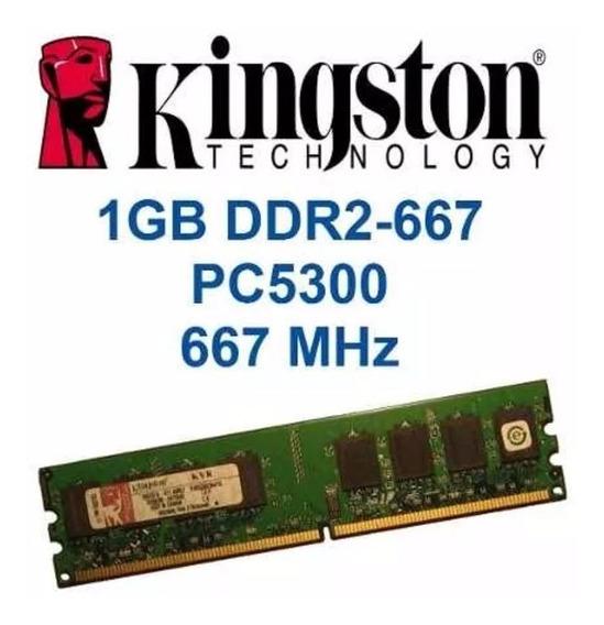 Memoria Ram Kingston Ddr2 512mb 667mhz Para Pc Original!