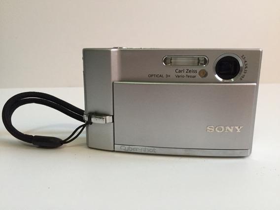 Câmera Digital Sony Dsc T70 7.2mp