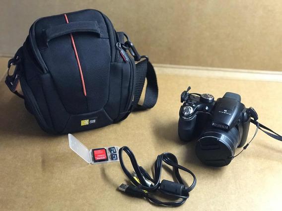 Cámara Fujifilm Finepix S 4430+2tarjetas De Memoria+funda