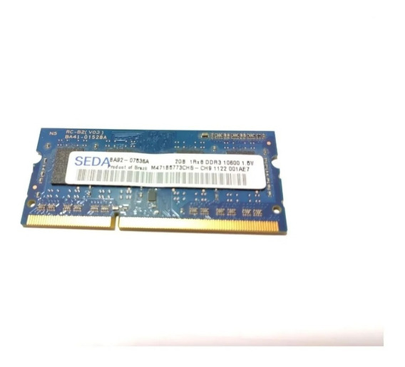 Memoria P/ Notebook 2gb Ddr3 Ba92-07536a #m27