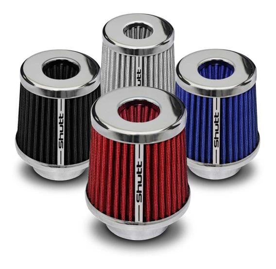 Filtro Ar Esportivo Duplofluxo 72mm Cônico Shutt Tuning