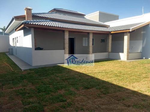 Imagem 1 de 30 de Casa Com 3 Dormitórios À Venda, 185 M² Por R$ 980.000 - Jardim Esplanada Ii - Indaiatuba/sp - Ca0832