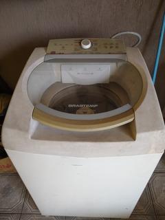 Máquina De Lavar Brastem Motor Em Curto,p/ Retirada De Peça