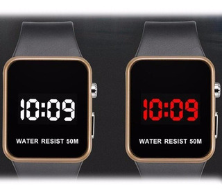 Reloj Fashion Led Watch Digital Waterproof Unisex Deportivo