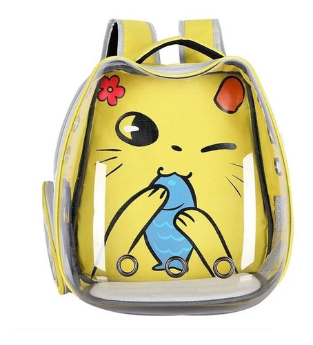 Mochila Transportadora Para Gatos Con Diseños Únicos!