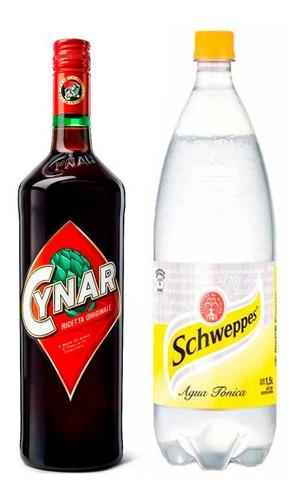 Combo Cynar 750ml  + Tónica Schweppes 1.5l