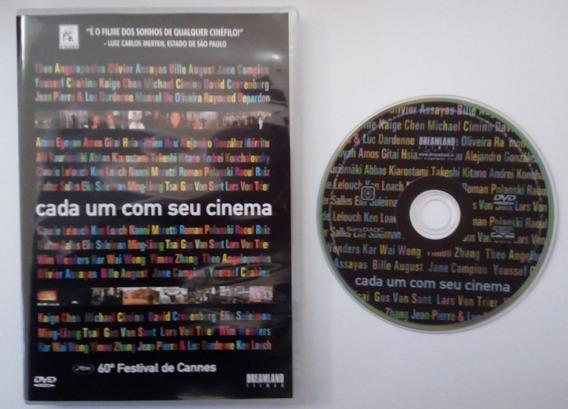 Dvd - Cada Um Com Seu Cinema - 60º Festival De Cannes