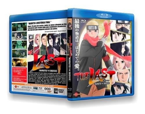 Naruto The Last - Filme Dublado Em Blu-ray + Exras