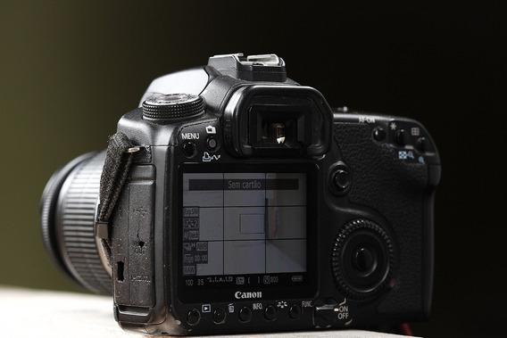 Canon 50d + 2 Baterias + Alça + Carregador + Adap. Cf/sd