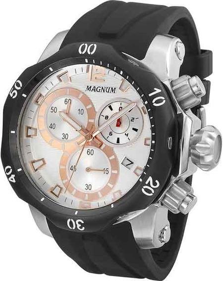 Relógio Magnum Masculino Cronógrafo Ma33755s