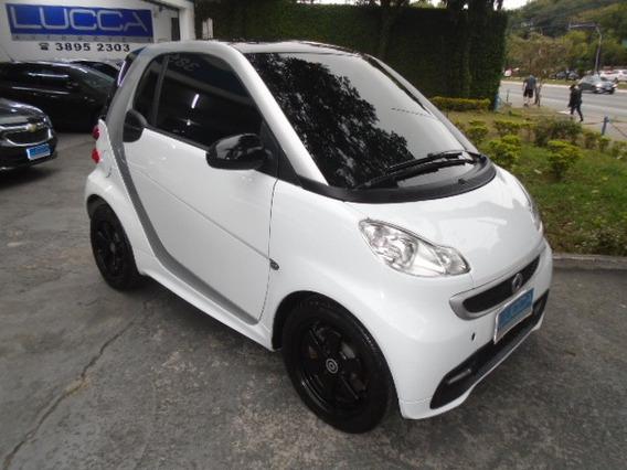 Smart Fortwo Coupe 1.0 Turbo 2013 Branca Com Teto Panorâmico