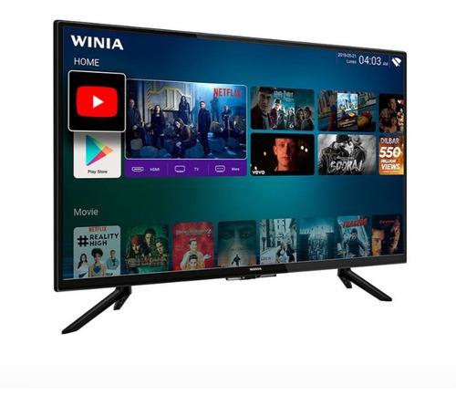 Imagen 1 de 8 de Led 32 Winia Smart Tv (l32v750bas) Hd Android