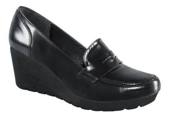 Zapatos Dama Plataforma Comoda Negros Casual Ms