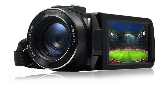 Câmera Filmadora Digital Semi Profissional Entrada Microfone