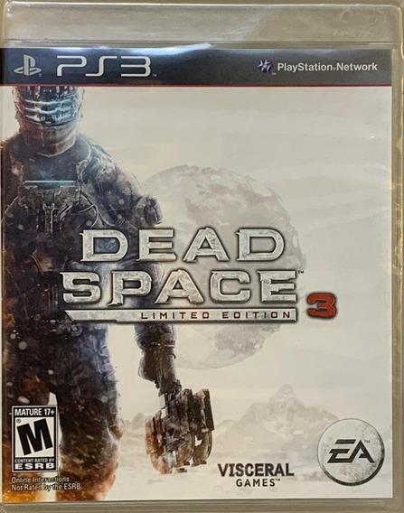 Jogo Dead Space 3 Limited Edition Ps3 Midia Fisica