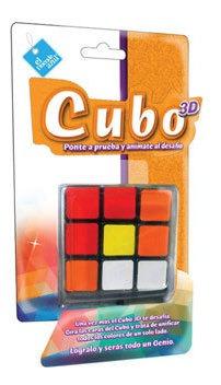 Cubo 3d Duende Azul A Jugar 6014 Fibro