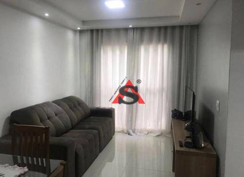 Apartamento Com 2 Dormitórios À Venda, 64 M² Por R$ 280.000,00 - Jardim Novo Santo Amaro - São Paulo/sp - Ap42631