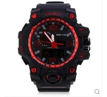 Relógio Digital Skmei 1155 Masculino Led - Preto